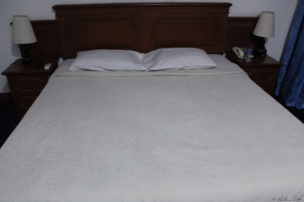 photograph of bed in Java