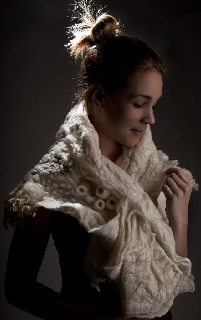 Felt Collar by Amelia Gray