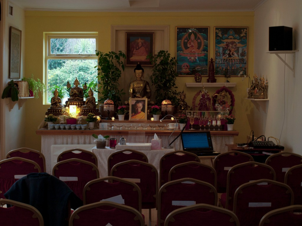 Photograph by Heather Dalton of Buddhist Temple in England