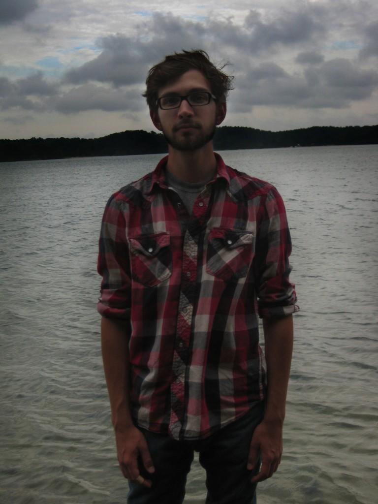 Portrait at pond in Nickerson State Park. Copyright Heather Dalton 2012