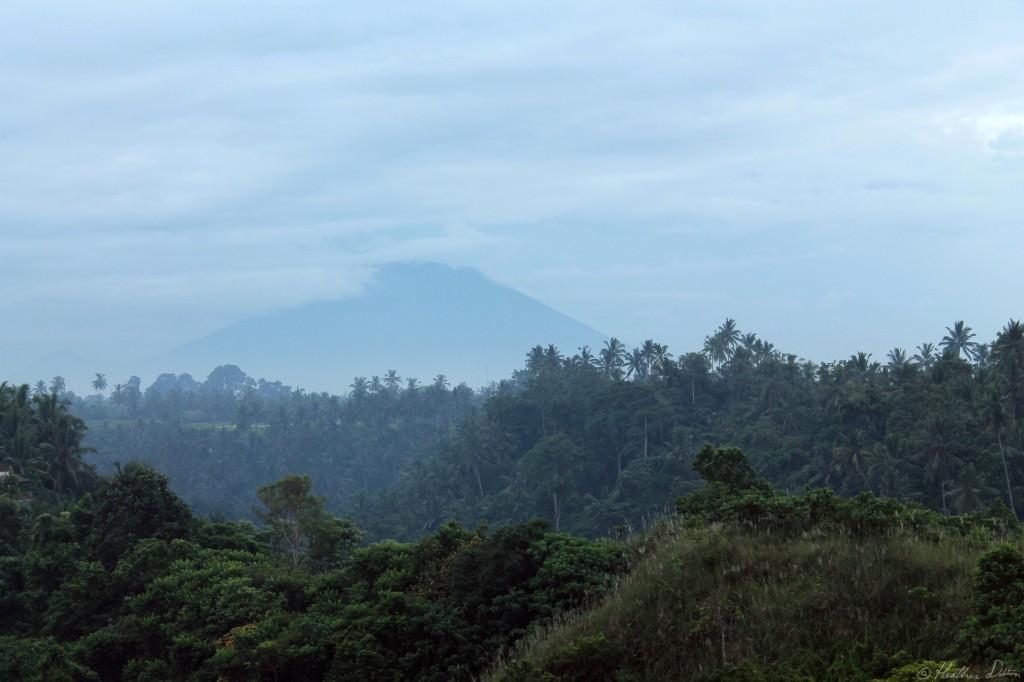 Photograph of Volcano Landscape Ubud Bali
