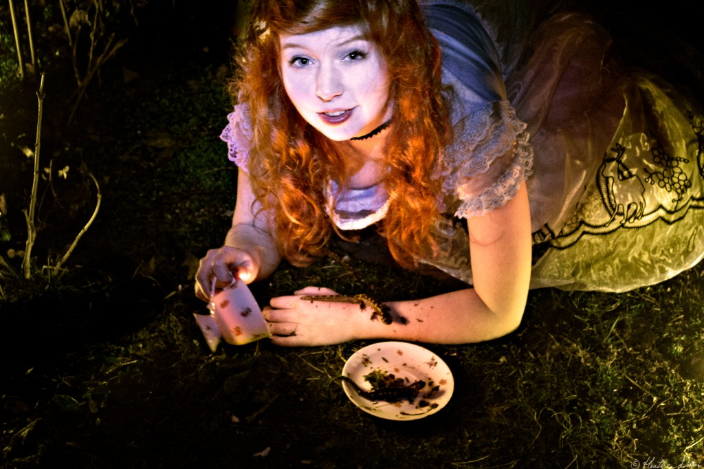 Photograph Meet Mary as Alice in Wonderland