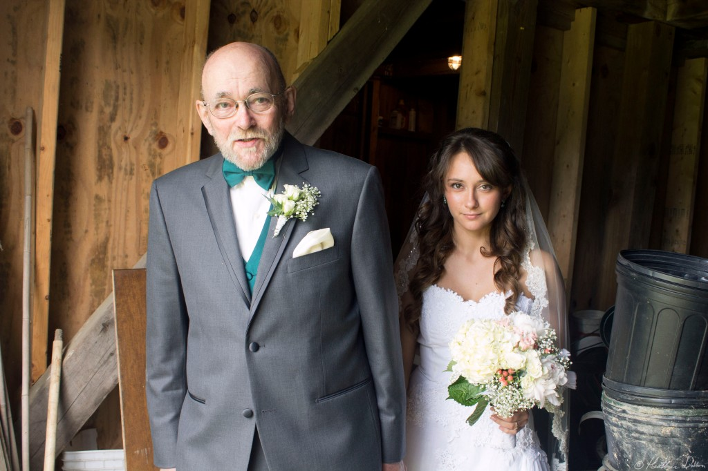 Father and Bride photograph