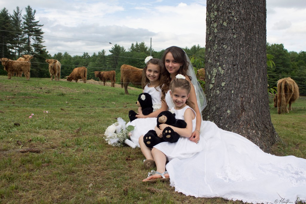 Farm Wedding Photograph