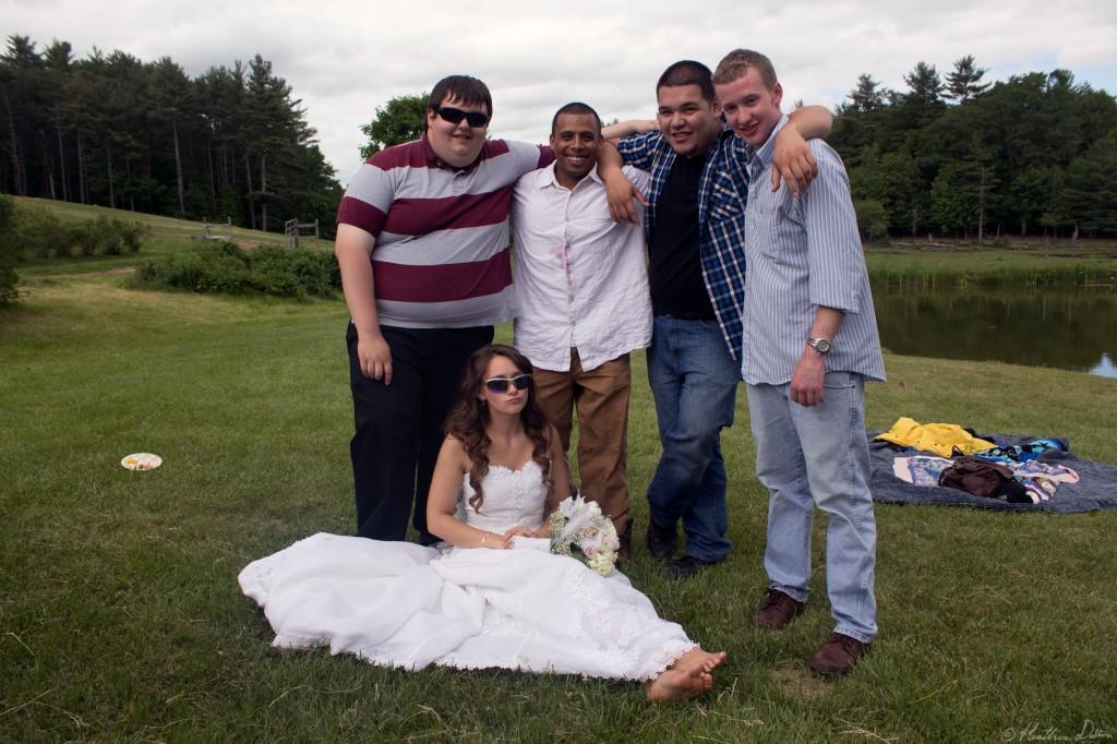 Funny Bride photograph