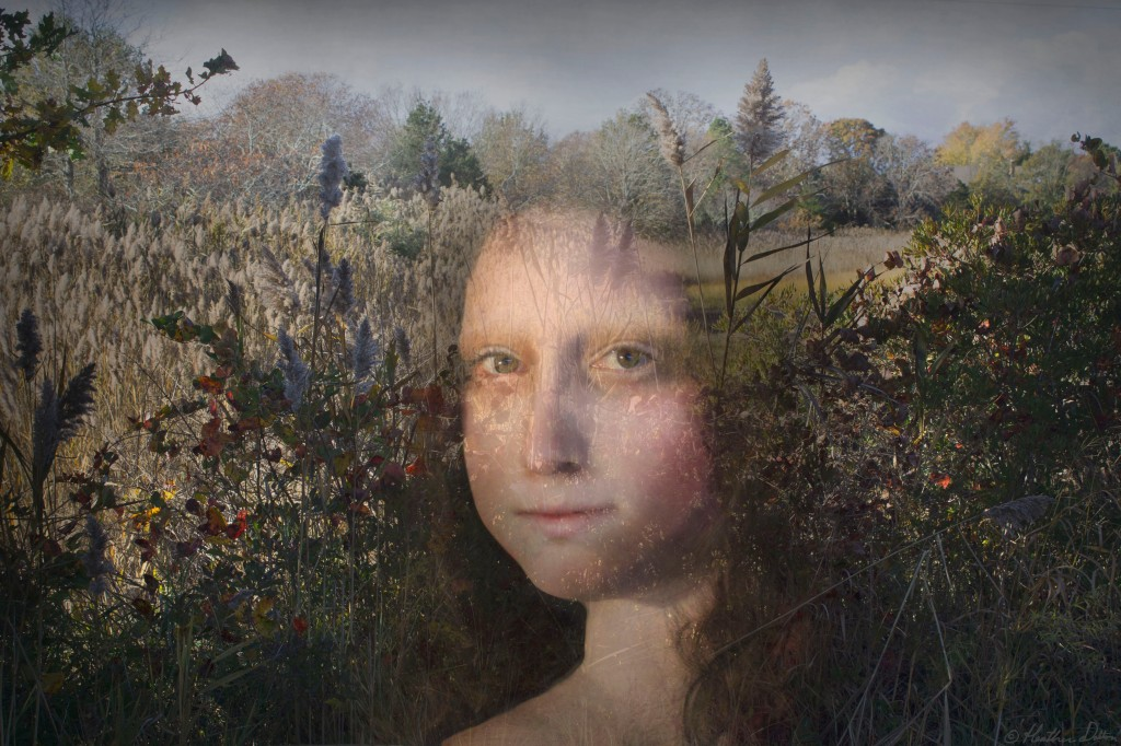 Mona Lisa digital art photography