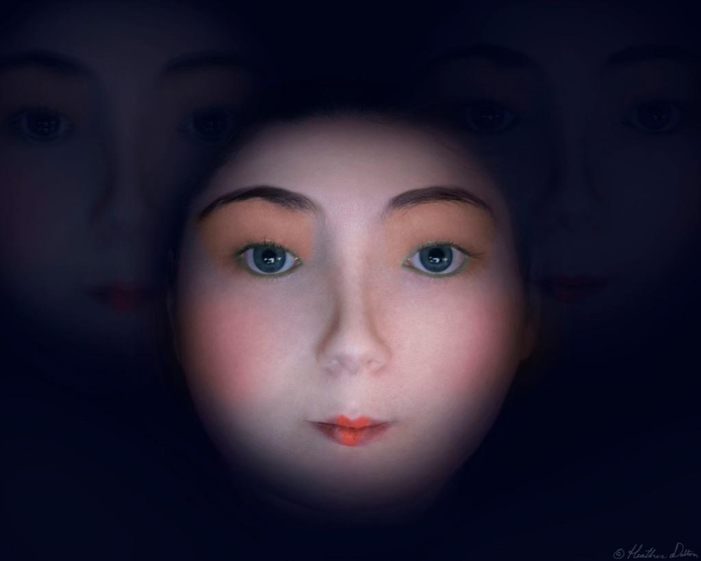 contemplation digital art
