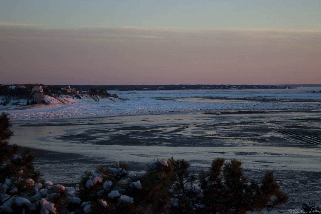 Snow Beach sunset